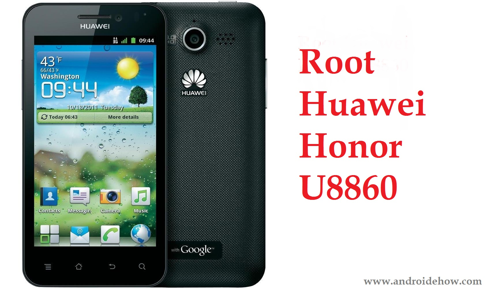 Root Huawei Honor U8860 with your PC Step by Step ( Easy Guide)