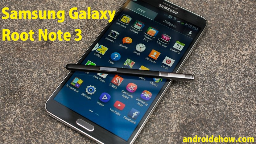 Root Galaxy Note 3  Kit-Kat 4.4.2 with PC (Easy Guide)