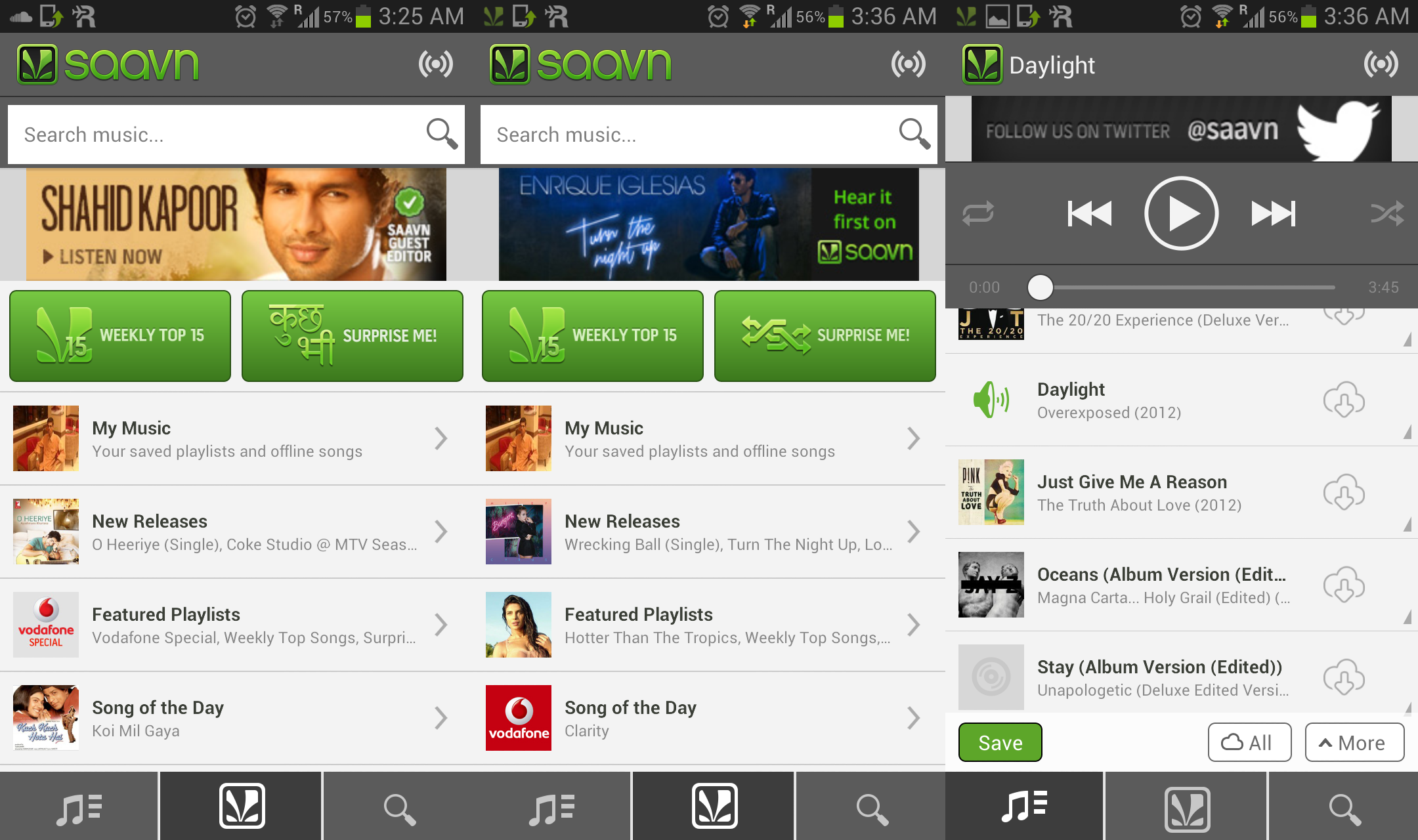 Saavn Music & Radio free music app download