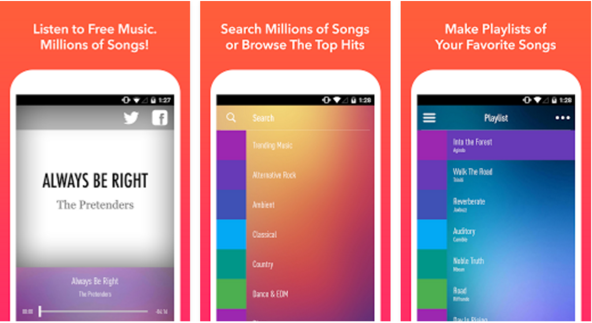 SongFlip: free music app download