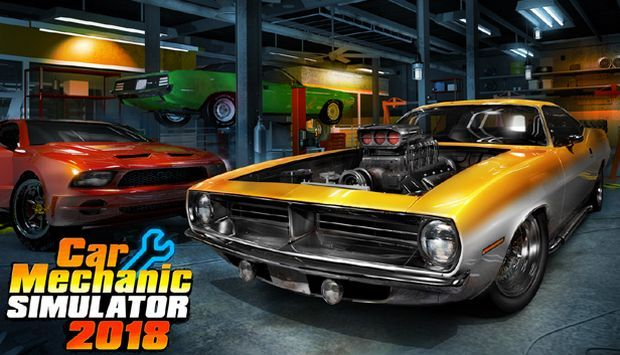 Car Mechanic Simulator 2018 Free Download PC Game