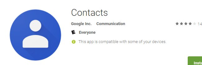 Top 5 most popular Android apps from last week: Travellite, Contacts