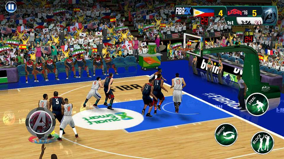 FIBA2K17 APK OBB Download 4 - FIBA2K17 APK + OBB v1.1 Android Basketball Game Download For Free