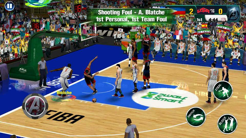 FIBA2K17 APK OBB Download 5 - FIBA2K17 APK + OBB v1.1 Android Basketball Game Download For Free
