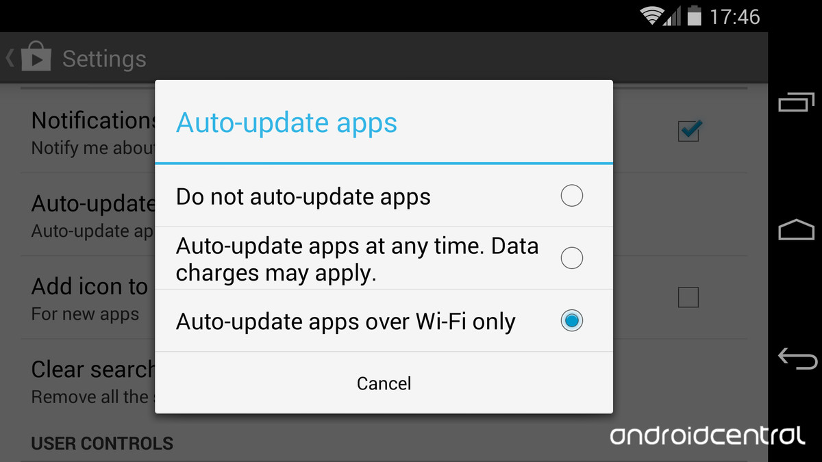 Google Play – How to auto-update apps