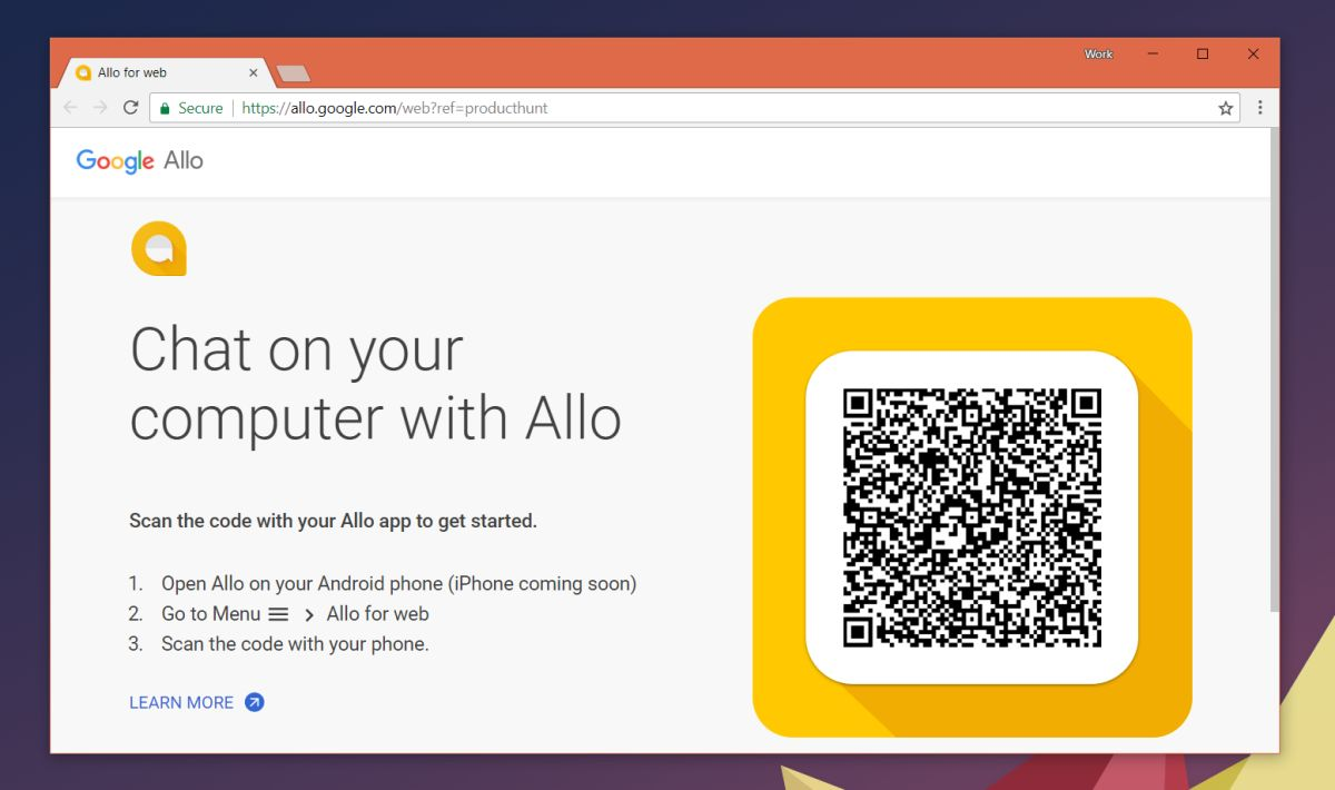 How To Use Google Allo For Web