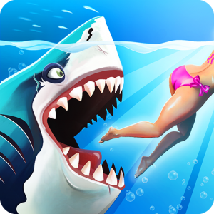 hungry shark world 300x300 - Hungry Shark World v2.3.0 Apk Mod Money