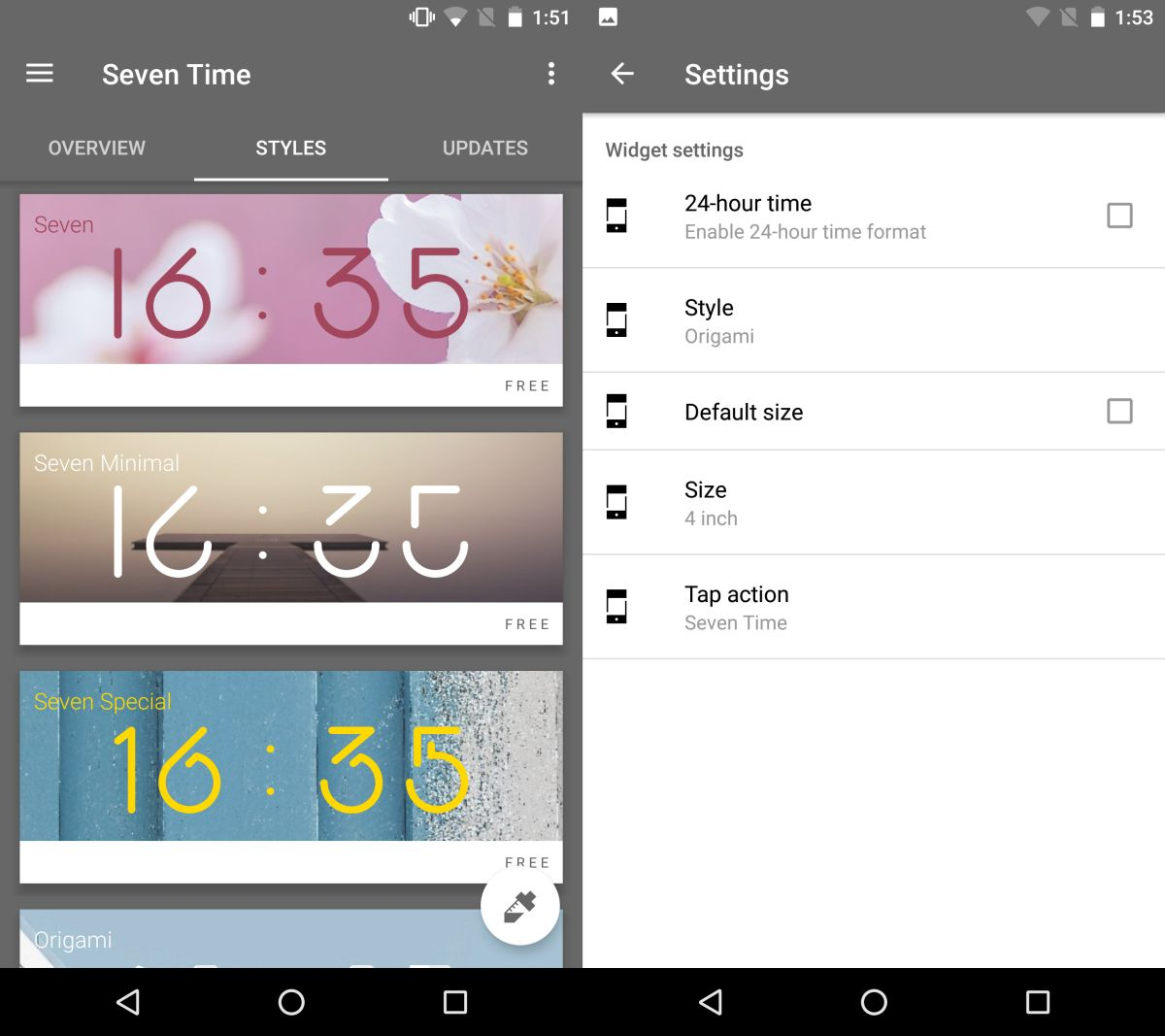 How To Stylize And Resize The Clock Widget On Your Home Screen