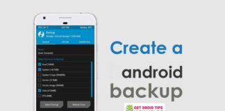 How to Create Android Backup