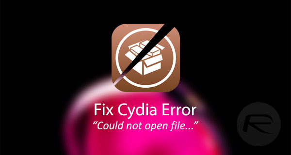 """How to Fix the Cydia Error """"Could Not Open File /var/lib/dpkg/status"""" – iOS 10"""