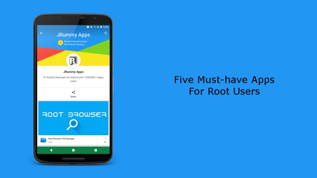 Five Must-Have Apps for Root Users