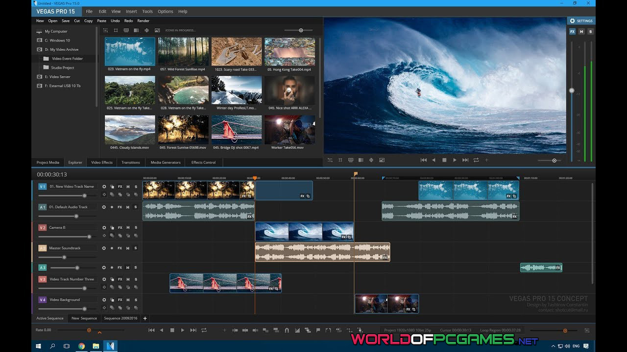 Sony Vegas Pro 15 Download Free