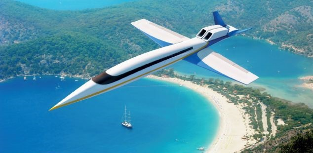 Personal Supersonic Jet Spike S-512