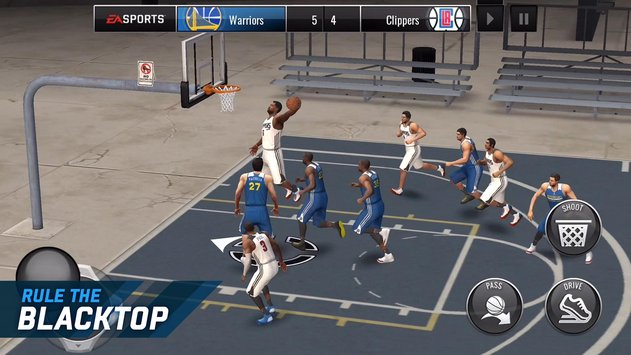NBA LIVE Mobile Basketball 1.6.2 Full APK