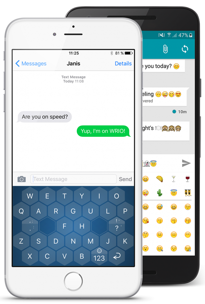 New Keyboard app for iOS and Android