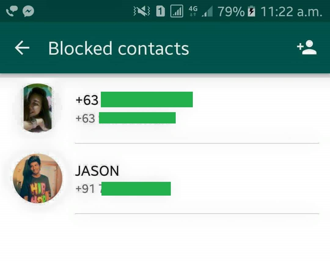 How to Remove Blocked Contact from WhatsApp