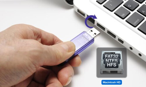 Choosing HDD or USB memory format: FAT32, NTFS, HFS + or exFAT?