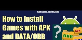 How to install .obb files for smartphone APKs