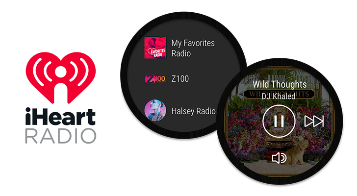 iHeartRadio standalone app for Android Wear 2.0 [APK Download]