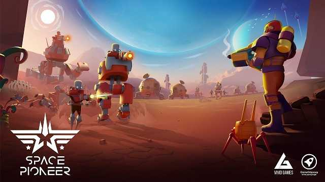 Space Pioneer Shoot, build & rule the galaxy MOD APK