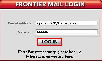 What is my frontier email address and How to Setup
