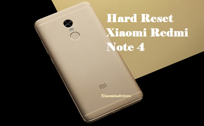 2 Methods Factory Reset and Remove Pattern/PIN Lock Redmi Note 4