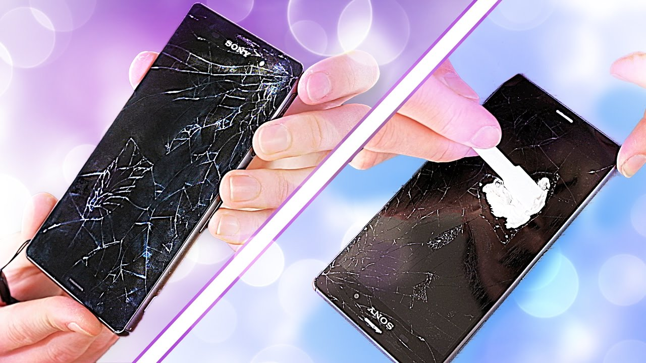 Fixing a Smashed Phone Screen – on a budget! (GLASS ONLY REPAIR ATTEMPT)